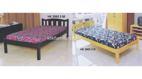 ranjang kayu single hk 2065 hakari