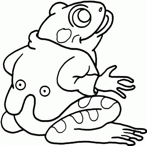 coloring pictures of tree frogs free coloring pages of frog outline