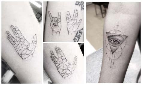 tatuajes simples hechos con lineas finas