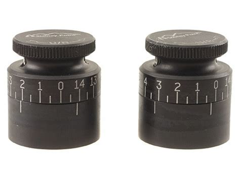 stoney point target knobs burris scopes package of 2