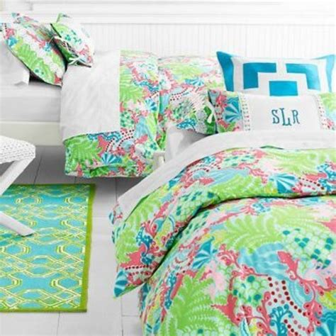 lilly pulitzer twin bedding 70 off lilly pulitzer other garnet hill lilly pulitzer