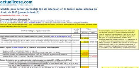 Liquidador Modelo Para Definir Porcentaje Fijo De | 187 procedimiento 2
