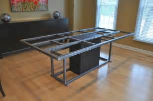 Kitchen Table Base Steel Table Base Table Tops And Bases Omaha By Nollette Metal Works