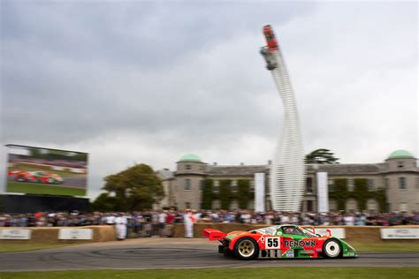 Jeremy Barnes Mazda Goodwood Festival Of Speed Race Cars On The Hill Inside