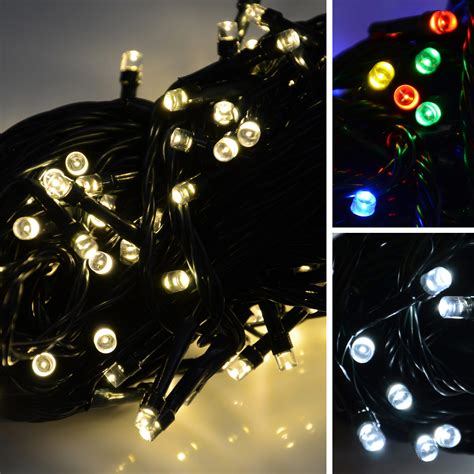 battery operated 200 led christmas xmas lights chain with