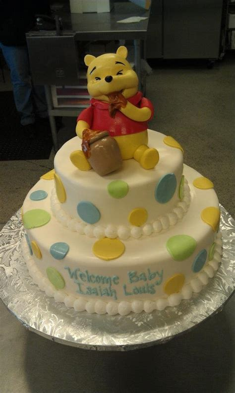 Pooh Baby Shower by 25 Best Baby Shower Cakes Images On Baby