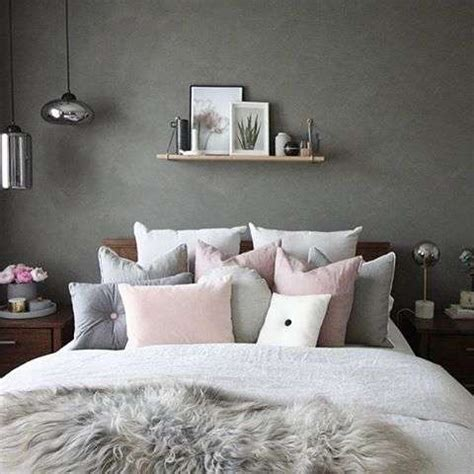 best 25 pink grey bedrooms ideas on for green