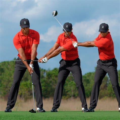 Golf Swing Driver by Swing Sequence Tiger Woods Golf Woods Golf Tiger