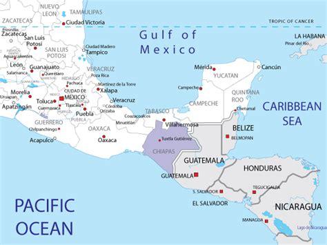 map of mexico chiapas chiapas mexico map mexico map