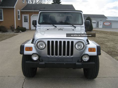 2004 jeep wrangler 4 0l 5 speed a c soft top