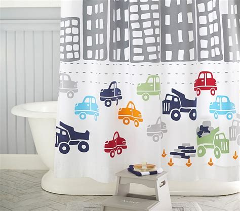 boys bathroom shower curtains decorating kids bathrooms abode