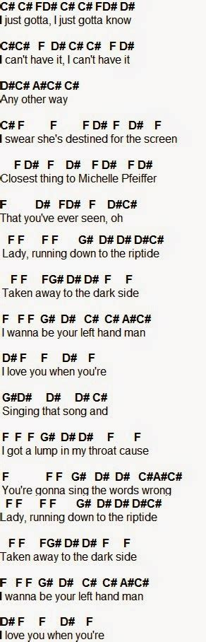 printable riptide lyrics flute sheet music riptide