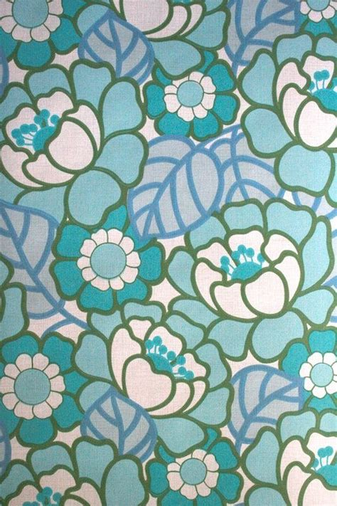 wallpaper pattern vintage blue vintage flowers layer upon layer flowers for everyone blog