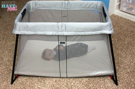 Travel Crib Mattress Must Baby Product New Babybj 214 Rn Travel Crib Light