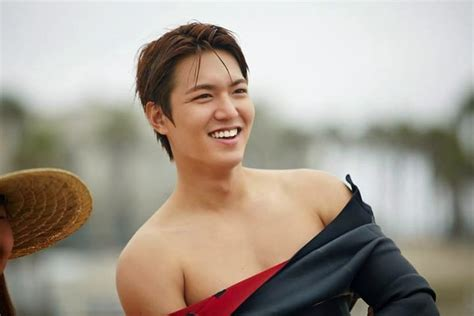 Lee min ho s new year s resolution bodybuilding lee min ho