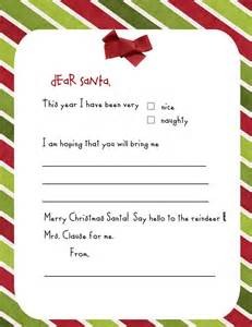 Preschool Letter To Santa Template Pin By Leah Somers On Holiday Pinterest