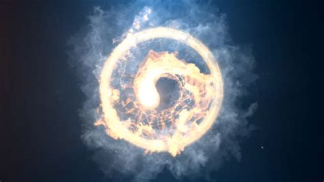 Fire Spin Logo Reveal Fire After Effects Templates F5 Design Com Spinning Logo Loop After Effects Templates