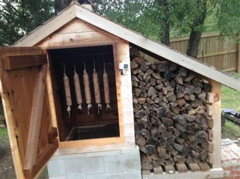 backyard smoker plans 12 smokehouse plans for better flavoring cooking and