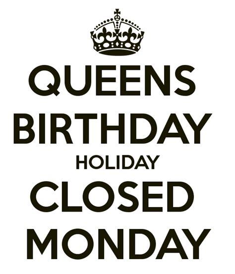 clontarf closed  october   queens birthday