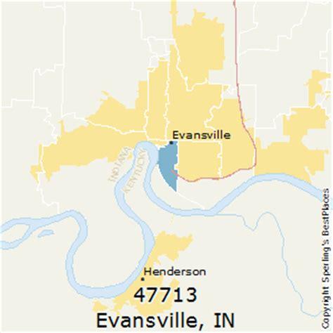zip code map evansville in best places to live in evansville zip 47713 indiana
