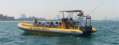 yellow zodiac boat balade en zodiac 224 dubai notre avis sur ce tour en bateau