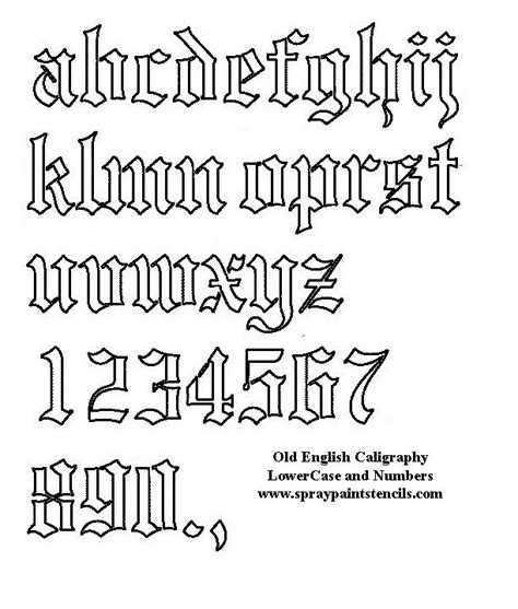 old english tattoo font best 25 font ideas on