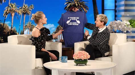 Kristen Bells Sweet  Ee  Th Ee    Ee  Birthday Ee   Present For Ellen Youtube