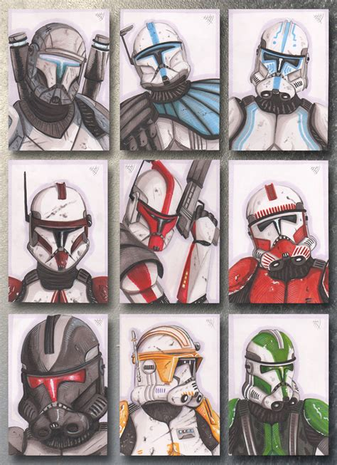 How To Clone Gift Cards - clone troopers by chrispydee on deviantart