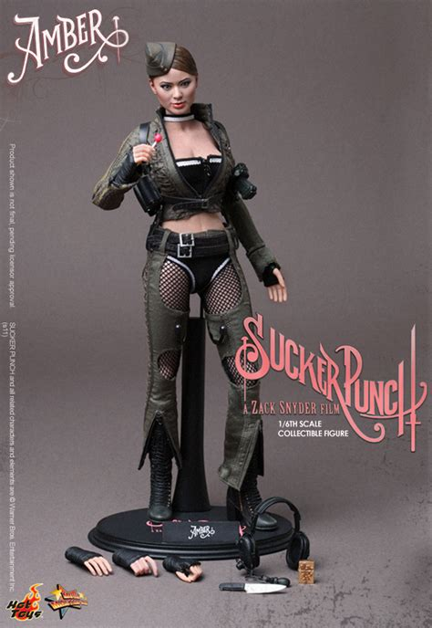 Suckerpunch Hottoys Ofc Never Display toys 1 6 sucker punch figures revealed