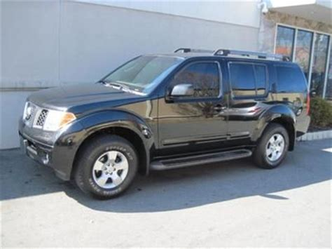 nissan pathfinder warranty sell used 2005 nissan pathfinder 3 row seating truck