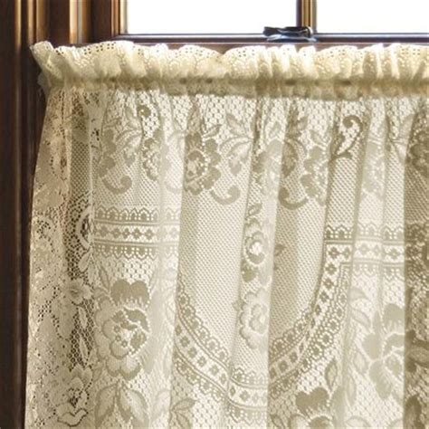lace curtains canada heritage lace victorian rose curtain panel reviews wayfair