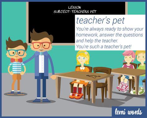 teachers pet lerni words