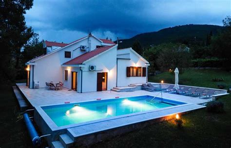 dubrovnik country family holiday home  pool villas