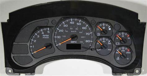 motor repair manual 2003 gmc safari instrument cluster 2003 2009 gmc chevy kodiak topkick c4500 c5500 c6500 instrument cluster repair