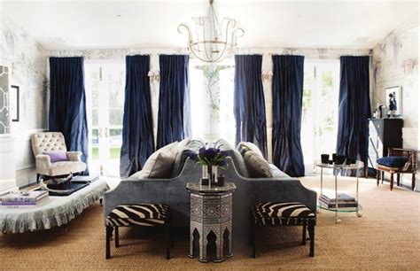 furniture blue living room curtains dark blue curtains zebra ottoman french living room windsor smith home