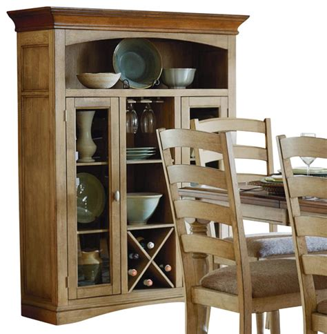 homelegance nash 48 inch curio with wine bottle storage