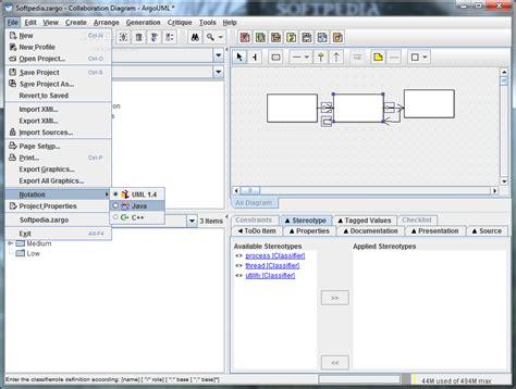 argouml class diagram argouml