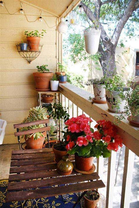 Small Terrace Garden Ideas 30 Inspiring Small Balcony Garden Ideas Amazing Diy Interior Home Design