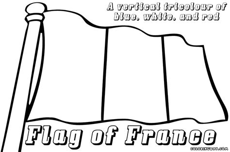 french flag coloring pages coloring pages to download