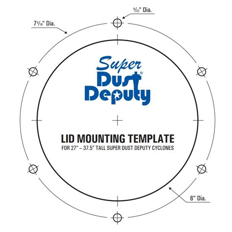 super dust deputy xl 152mm 6inch diy cyclone separator