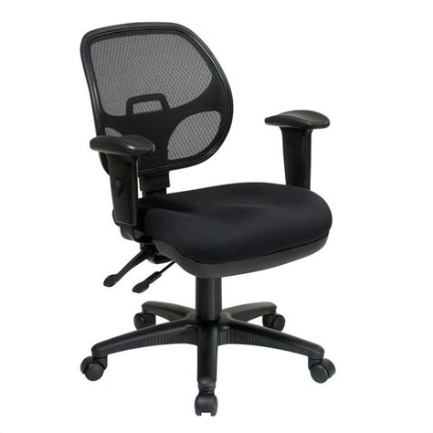 office chair with adjustable arms ergonomic task office chair with adjustable arms in coal