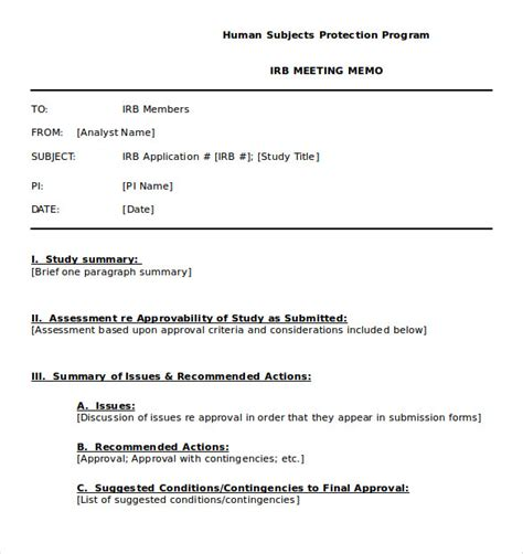 safety memo template meeting memo template 20 word pdf docs