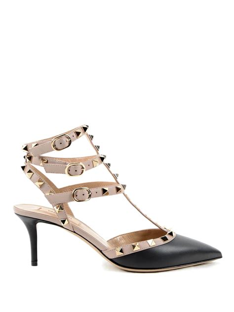 valentino garavani sneakers leather studded pumps by valentino garavani court shoes