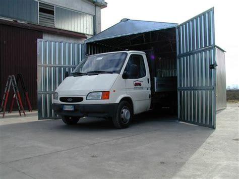 box auto in lamiera box auto prefabbricato in lamiera zincata componibile a