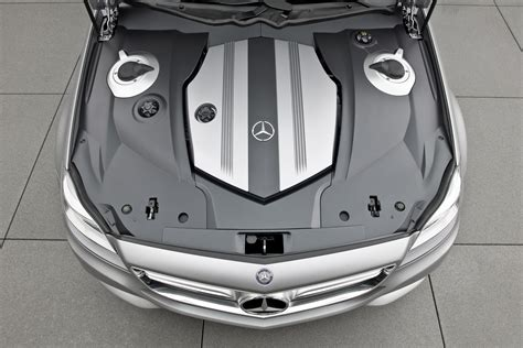 design cover set motor mercedes shooting break concept car engine bay eurocar