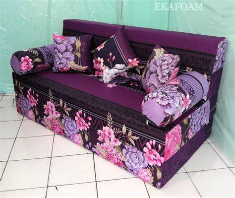 Sofa Bed Ungu sofa bed inoac motif keluarga dewasa agen resmi kasur