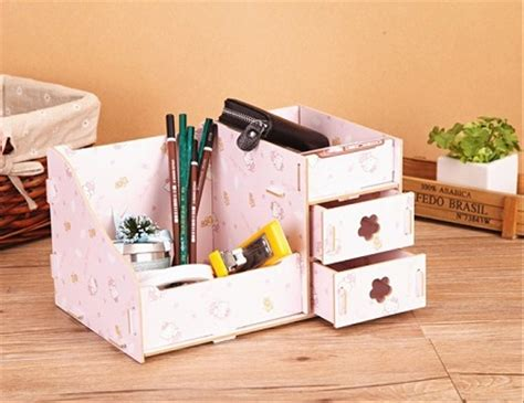 Rak Kosmetik Lucu jual rak kayu kosmetik unik ukuran medium organize di