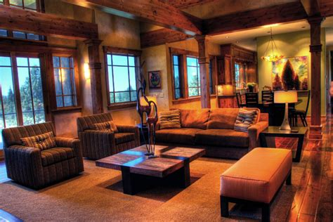 modern rustic living room rustic modern mountain retreat contemporary living