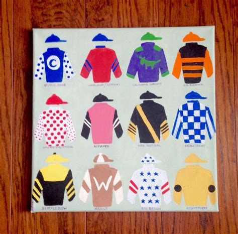 kentucky derby colors 163 best images about jockey quot silks quot cookies color
