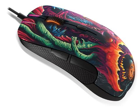 Sale Mouse Gaming Steelseries Rival 300 Cs Go Hyperbeast Edition rival 300 cs go hyper beast edition exclusive design
